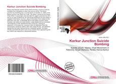 Karkur Junction Suicide Bombing kitap kapağı
