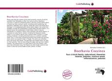 Portada del libro de Boerhavia Coccinea