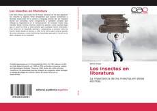 Portada del libro de Los insectos en literatura