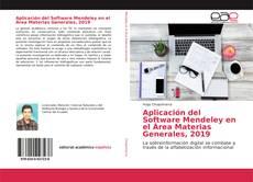 Bookcover of Aplicación del Software Mendeley en el Área Materias Generales, 2019