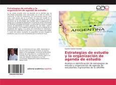 Capa do livro de Estrategias de estudio y la organización de agenda de estudio