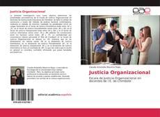 Capa do livro de Justicia Organizacional
