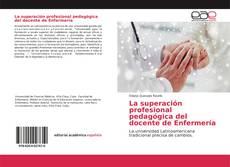 Portada del libro de La superación profesional pedagógica del docente de Enfermería