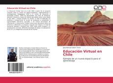 Portada del libro de Educación Virtual en Chile
