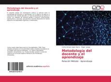Buchcover von Metodología del docente y el aprendizaje
