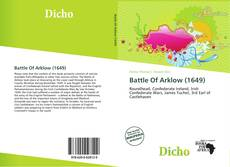 Bookcover of Battle Of Arklow (1649)
