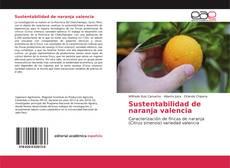 Buchcover von Sustentabilidad de naranja valencia