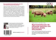 Обложка Biorremediación de efluente porcino con helecho azolla filiculoides