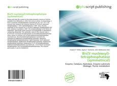 Buchcover von Bis(5'-nucleosyl)-tetraphosphatase (symmetrical)