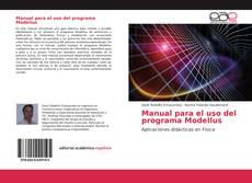 Buchcover von Manual para el uso del programa Modellus