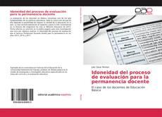 Bookcover of Idoneidad del proceso de evaluación para la permanencia docente