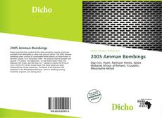 Bookcover of 2005 Amman Bombings