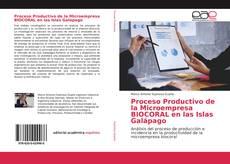 Portada del libro de Proceso Productivo de la Microempresa BIOCORAL en las Islas Galápago