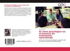 Обложка El clima psicológico en el proceso de enseñanza- aprendizaje