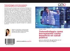 Portada del libro de Telenefrología como herramienta costo-beneficio en salud pública