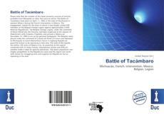 Couverture de Battle of Tacámbaro