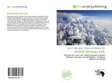 British Airways Ltd. kitap kapağı