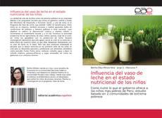 Portada del libro de Influencia del vaso de leche en el estado nutricional de los niños