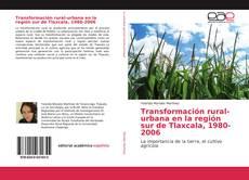 Обложка Transformación rural-urbana en la región sur de Tlaxcala, 1980-2006