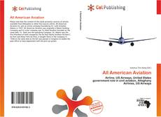 Portada del libro de All American Aviation