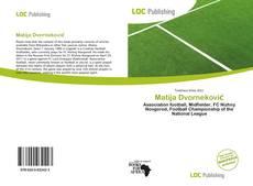 Matija Dvorneković kitap kapağı