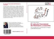Portada del libro de El cálculo fraccional de Riemann y Liouville
