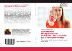 Portada del libro de Adherencia terapéutica en VIH/SIDA: Más allá de los antirretrovirales