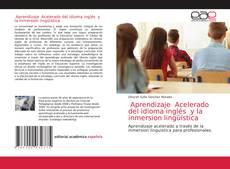 Buchcover von Aprendizaje Acelerado del idioma inglés y la inmersion lingüística