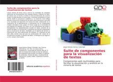 Suite de componentes para la visualización de textos kitap kapağı