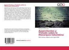 Portada del libro de Ayparchontes y Tratado sobre la Monarquía Columbina