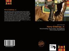 Couverture de Harry Giddings, Jr.