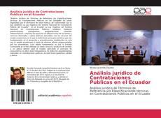 Bookcover of Análisis jurídico de Contrataciones Publicas en el Ecuador