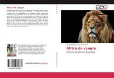 Обложка África de sangre