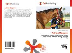 Bookcover of Adrian Maguire