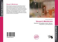 Bookcover of Heuser's Membrane