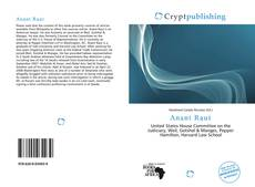 Bookcover of Anant Raut