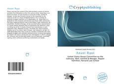 Capa do livro de Anant Raut
