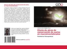 Bookcover of Efecto de obras de conservación de suelos en macroinvertebrados