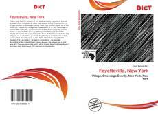 Fayetteville, New York kitap kapağı