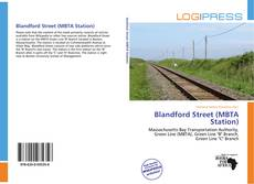 Обложка Blandford Street (MBTA Station)