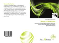 Buchcover von Renaud De Putter