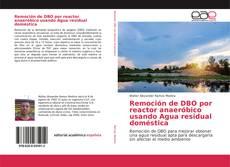 Remoción de DBO por reactor anaeróbico usando Agua residual doméstica的封面