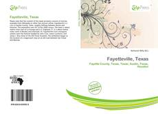 Bookcover of Fayetteville, Texas