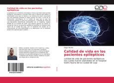 Portada del libro de Calidad de vida en los pacientes epilépticos