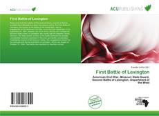 Bookcover of First Battle of Lexington
