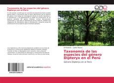 Capa do livro de Taxonomía de las especies del género Dipteryx en el Perú