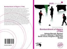 Buchcover von Bombardment of Algiers (1784)