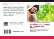 Portada del libro de Factores de Abandono de la Lactancia Materna