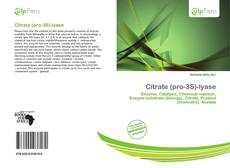 Bookcover of Citrate (pro-3S)-lyase