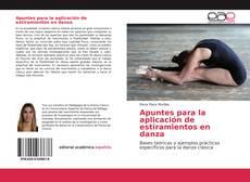 Capa do livro de Apuntes para la aplicación de estiramientos en danza